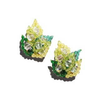Vintage Coppola e Toppo beaded earrings set, c. 1960
