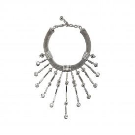 Vintage Ugo Correani festoon necklace, c. 1980