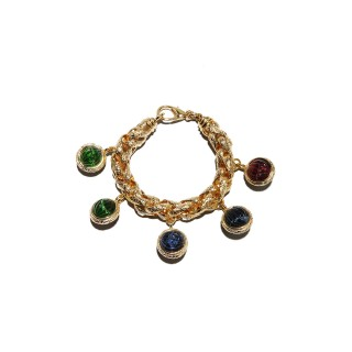 Vintage Christian Dior charm bracelet, c.1975