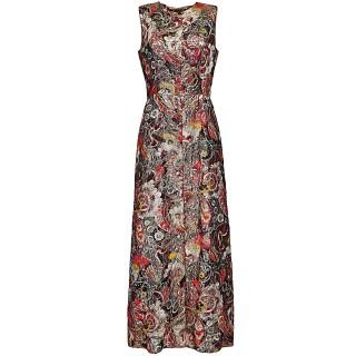 Vintage Lurex column dress, 1970s