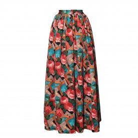 Vintage Balestra jacquard geometric skirt, 1980s
