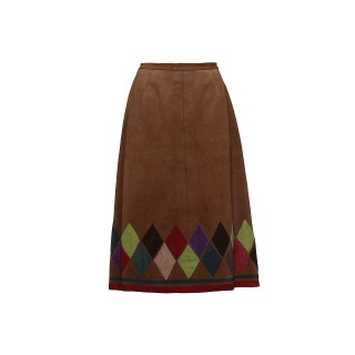 Vintage Suede skirt, 1970s