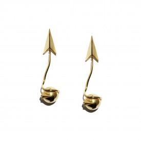 Vintage Ugo Correani dangling earrings, 1990