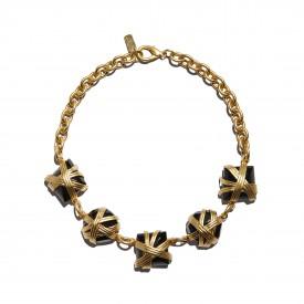Vintage Ugo Correani necklace, Italy c. 1990