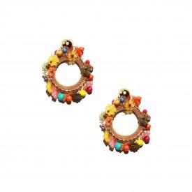 Ugo Correani earrings, c. 1980