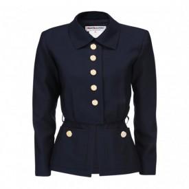 Yves Saint Laurent blue wool jacket, 1980s