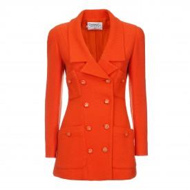 Vintage Chanel orange jacket, 1990s