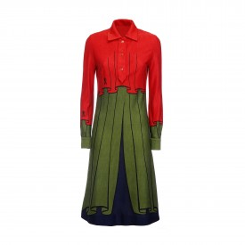 Vintage Roberta di Camerino wool dress,1970s