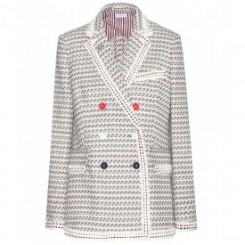 thom browne- tweed blazer
