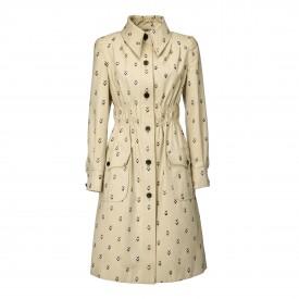 Vintage Valentino cotton coatdress, 1970s