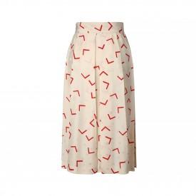 Vintage Dior printed silk skirt, 1980s 1
