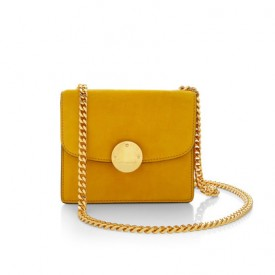 Marc Jacobs Mini Suede Trouble Bag in Yellow