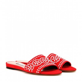tabitha simmons sprinkles suede sandals