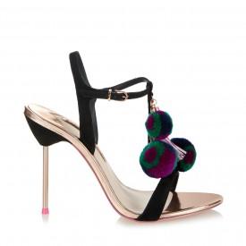 Sophia Webster pompom shoes