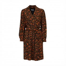 Vintage Yves Saint Laurent silk wrap dress | LaDoubleJ