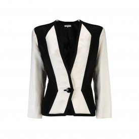 Vintage Yves Saint Laurent satin jacket, 1980s | LaDoubleJ