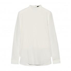 Tibi shirt silk crepe