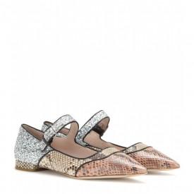 Miu Miu python shoes
