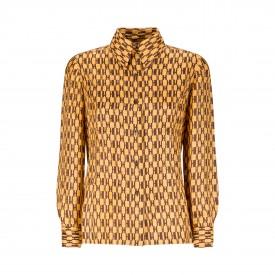 Vintage Hermès geometric shirt | LaDoubleJ 1