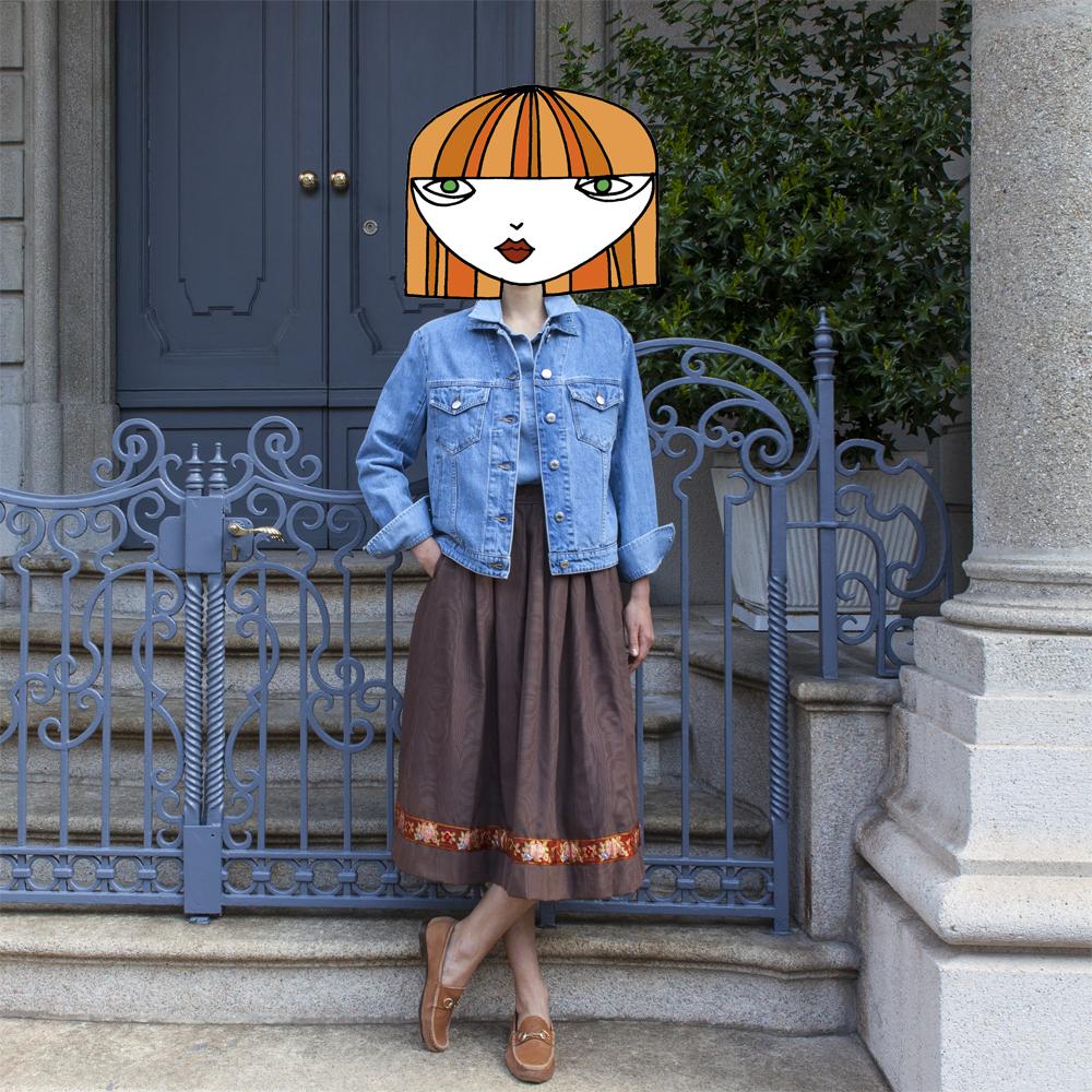 Milan Street Style Look 129| LaDoubleJ
