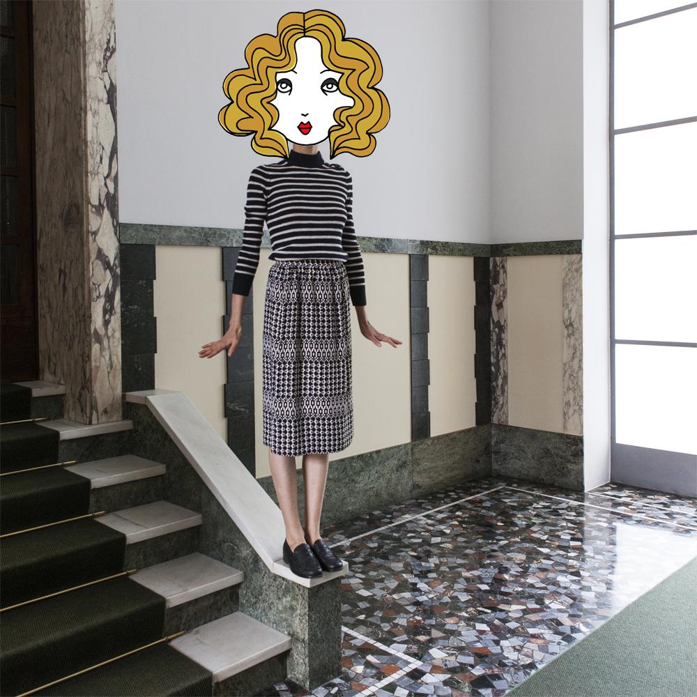 Milan Street Style Look 130| LaDoubleJ