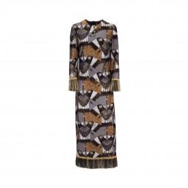 Long eagle dress, 1970s | LaDoubleJ 1