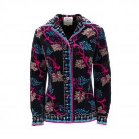 Emilio Pucci velvet jacket, 1960s | LaDoubleJ 1