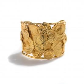 Coin cuff bracelet, 1980s | LaDoubleJ 1