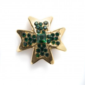 Gianni Versace star pin by Ugo Correani, 1991   LaDoubleJ 1