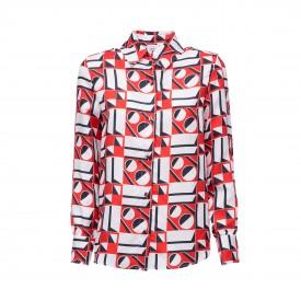 LaDoubleJ Editions Geometrico Boy Shirt | LaDoubleJ 2