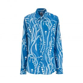 La DoubleJ Editions Polipo Blu Men's Shirt | La DoubleJ 1