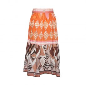 Emilio Pucci printed skirt, 1960s | LaDoubleJ 1