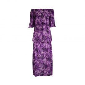 YSL floral long dress, 1970s | LaDoubleJ 1