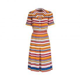 Saint Laurent stripe dress, 1970s | La DoubleJ 1