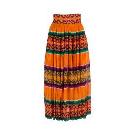 Byblos plissé skirt, 1980s | LaDoubleJ 1