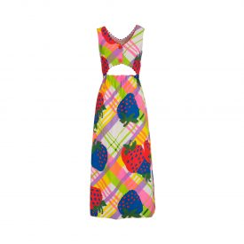 Strawberry dress, 1970s | La DoubleJ 1
