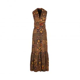 Bead embroidered dress, 1970s | 1