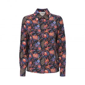 La DoubleJ Editions Pavone Nero Slim Shirt | La DoubleJ 1