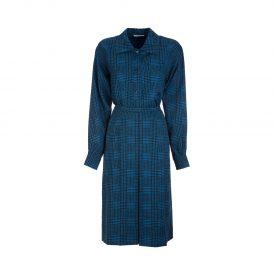 Yves Saint Laurent houndstooth shirt & skirt set, 1970s_1